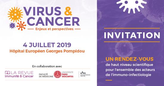 2ème édition Virus et Cancer 2019