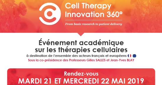 1ère édition Cell Therapy Innovation 360°