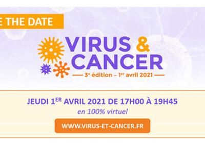 3èmes édition VIRUS & CANCER