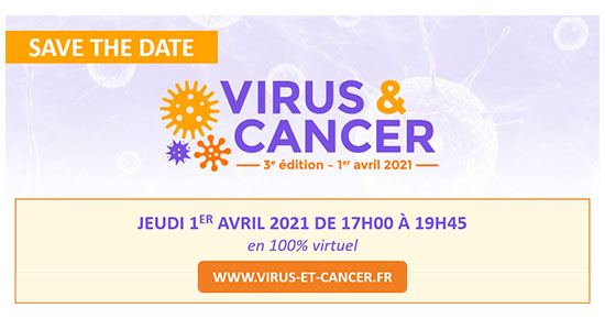3èmes édition VIRUS & CANCER